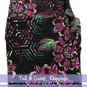 LuLaRoe Tall & Curvy Tc Leggings NWT